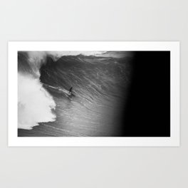 Biggest wave in the world 2 Art Print