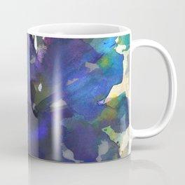 Blue Butterfly Poppy Coffee Mug