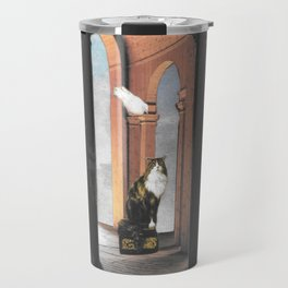 It's Lonely at the Top Travel Mug