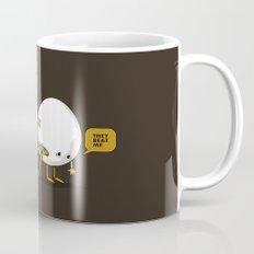 They Beat Me Mug