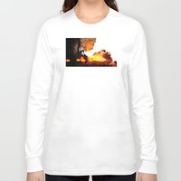 river song Long Sleeve T-shirts featuring Find River Song by Nero749