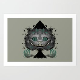 Cat of Spades Art Print