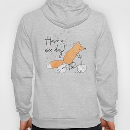 Spring bicycle fox Hoody