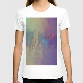Industral Abstract, Cooling and Burning Metal T-shirt