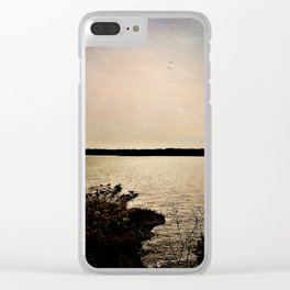 Where We Are Clear iPhone Case