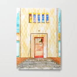 Door In Berlin Germany - For Doors & Travel Lovers Metal Print