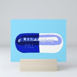 Sleepy Pill Mini Art Print
