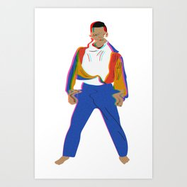 SUPERCRIS! Art Print