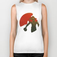 thor Biker Tanks featuring Thor by Pulvis