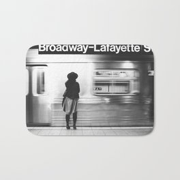 New York MTA Subway Bath Mat