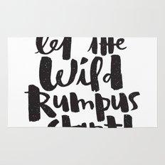 WILD RUMPUS Rug