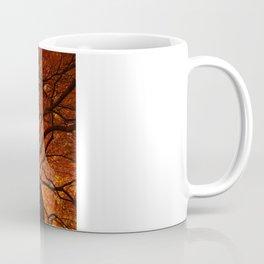 Ephemeral - Fall Maple Leaves, Nature Photography Coffee Mug