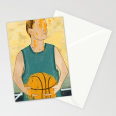 Losing my love for basketball Stationery Cards