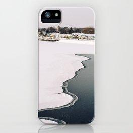 Frozen Ottawa River iPhone Case