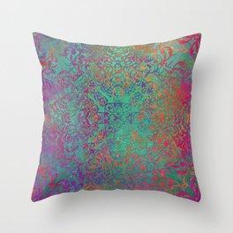 magic mandala 41 #magic #mandala #decor Throw Pillow