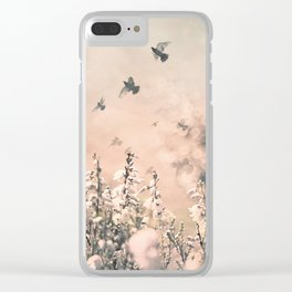 Spring to life Clear iPhone Case