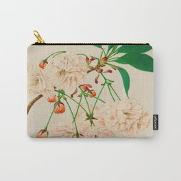 Fugen's Elephant Cherry Blossoms Carry-All Pouch