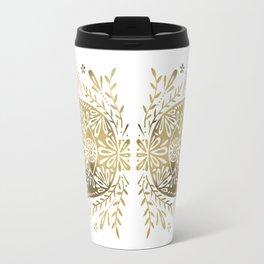 Hamsa Hand – Gold Palette Travel Mug