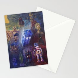 """""""13 in 50"""" a Tribute to Doctor Who Stationery Cards"""