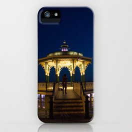 Brighton Bandstand at Night iPhone Case