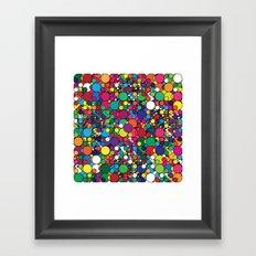 Covalent Geometric Art Print. Framed Art Print