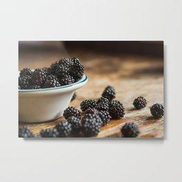 Rubus Occidentalis Metal Print