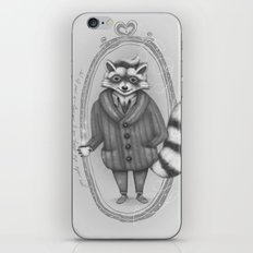 Morning -- Black and White Variant iPhone & iPod Skin