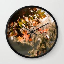 Autumn Feelings 3 Wall Clock