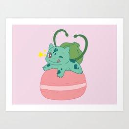 Little Bulba, Big Macaron Art Print