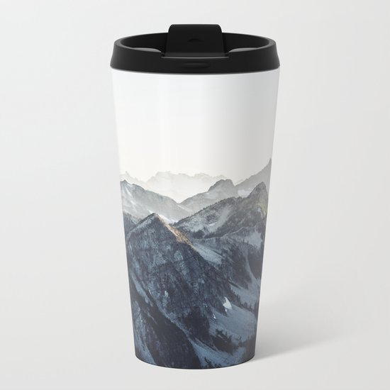 Mountain Mood Metal Travel Mug