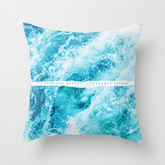 undreamed shores Throw Pillow