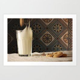 Sweet metorite. Art Print