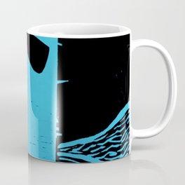 Photo Blue - Abstract Surrealism Print Coffee Mug