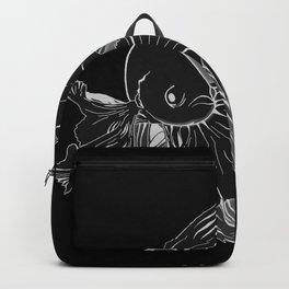 Betta Fish b&w Backpack