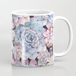 succulent garden 3 Coffee Mug
