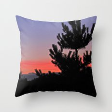 July Sunrise over London Throw Pillow
