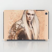 thranduil iPad Cases featuring thranduil oropherion by LindaMarieAnson