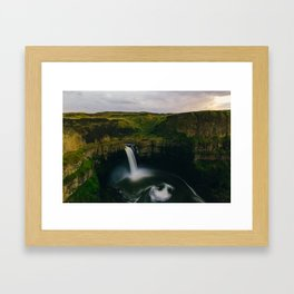 Palouse Falls Framed Art Print