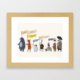 adventure and explore Framed Art Print