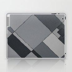 Grey Map 45 Laptop & iPad Skin