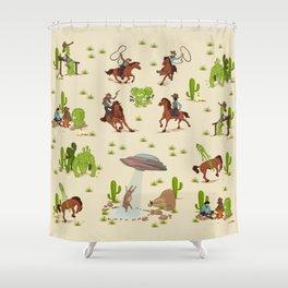 COWBOYS & ALIENS Shower Curtain