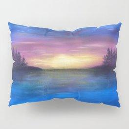 Lakeside Sunset Pillow Sham