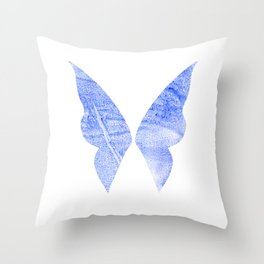 Snow Fairy Throw Pillow