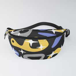 Retro Mid Century Modern Abstract Composition 937 Fanny Pack