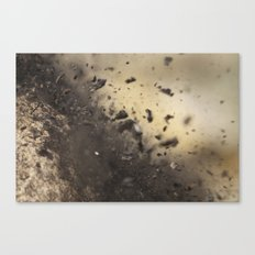 Smashed to Pieces Canvas Print