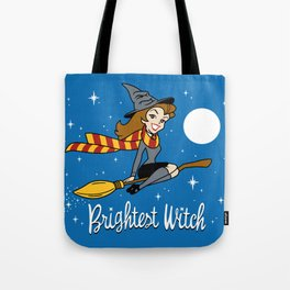 Brightest Witch Tote Bag