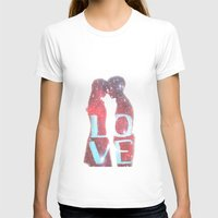 lovers T-shirts featuring Lovers by EclipseLio