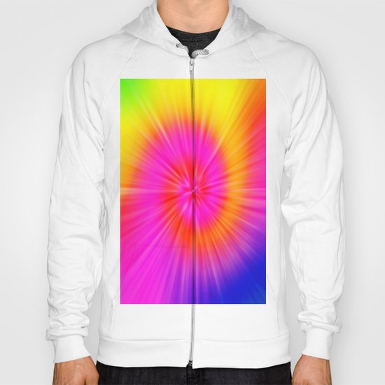TIE DYE #1 (Rainbow Colors) Hoody