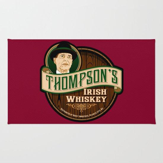 Thompson's Irish Whiskey Rug