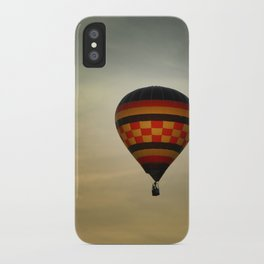 Floating into the Sunset iPhone Case